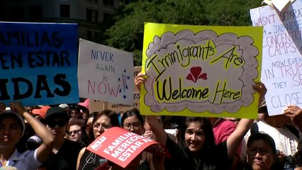 Protests held across the country ahead of ICE raids