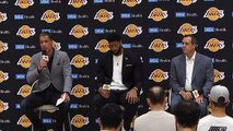 Lakers introduce All-Star forward Anthony Davis at press conference