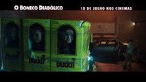 O BONECO DIABÓLICO Filme - Chucky - Aubrey Plaza, Com a voz de Mark Hamill