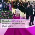 Lady Gaga strips down to bra and underwear at Met Gala