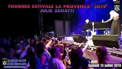 Trets : Une soirée de qualité avec Julie Zenatti & Maxime