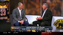 Andy Brickley, Billy Jaffe Discuss Danton Heinen's Expectations