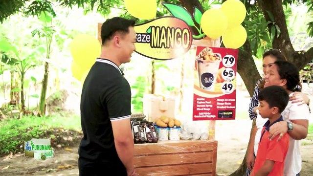 Gio Esta gives Josefina Nuñez a full package of his mango shake franchise | My Puhunan