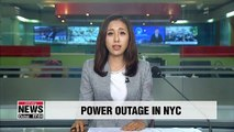 Massive power outage in NYC stalls elevators, subway trains
