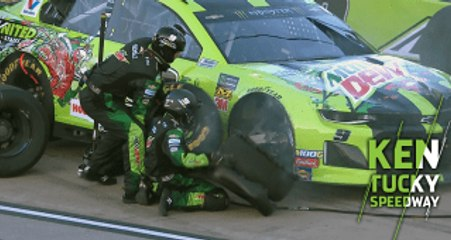 Elliott has tire trouble in Stage 1 at Kentucky