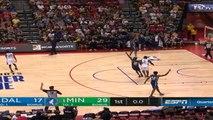Dallas Mavericks at Minnesota Timberwolves Summer League Raw Recap