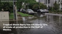 Tropical Storm Barry Slashes U.S. Gulf Of Mexico Crude Oil Output