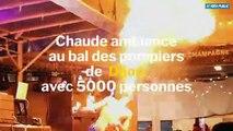 Chaude ambiance au bal des pompiers de Dijon : 5000 personnes présentes