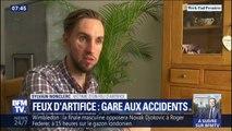 """""""Je suis tombé dans le coma pendant 14 jours."""" À 21 ans, Sylvain a été gravement blessé par un feu d'artifice tiré entre amis"""