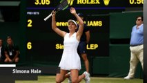 Halep beats Williams in Wimbledon final