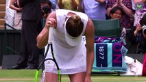 Feature Simona Halep beats Serena Williams to win first Wimbledon