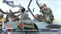 """""""La pression monte un peu."""" À bord d'un mirage 2000, notre journaliste Igor Sahiri s'apprête à décoller"""