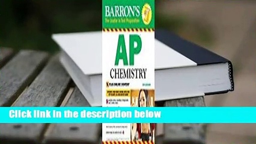 Barron's AP Chemistry with Online Tests For Kindle