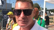 Tour de France - Interview de Franck Alaphilippe