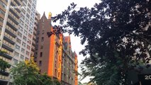 """Stunning """"Manhattan henge"""" delights New Yorkers once more"""