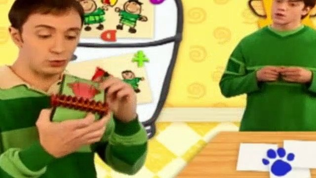Blues Clues Season 4 Episode 24 - Joe Gets A Clue