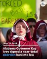 Alabama governor signs abortion ban into law