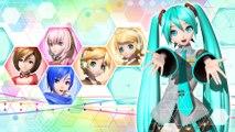Hatsune Miku Project Diva Future Tone - Teaser localisation
