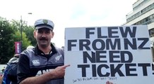 IANS at World Cup | Final | Kiwi fan who came all the way from NZ, wants a ticket