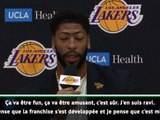 """Davis : """"Les Lakers se sont développés"""""""