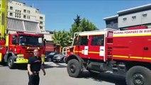Les Jeunes Sapeurs Pompiers de Verdun en manœuvre dans le sud de la France