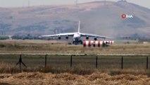 S-400 teslimatı için gelen yedinci uçakta Mürted Hava Üssüne iniş yaptı