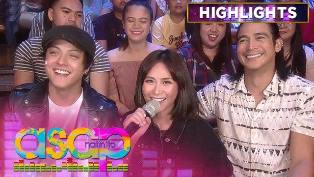 Sarah G teases Daniel Padilla and Piolo Pascual | ASAP Natin 'To
