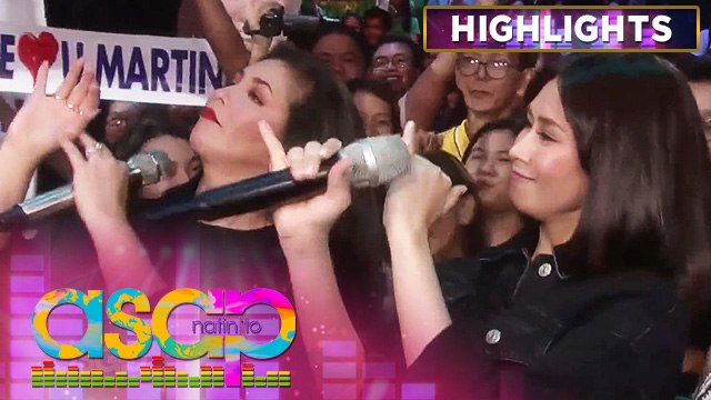 Regine and Sarah G accepts Chuva Choo Choo dance challenge | ASAP Natin 'To
