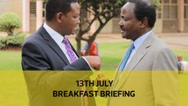 Senators change tact | Chinese contractor's 'gifts' | Race for Ukambani vote: Your Breakfast Briefing