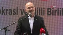 İçişleri Bakanı Süleyman Soylu 15 Temmuz şehitlerinin çocukları ve eşleriyle kahvaltıda bir araya geldi