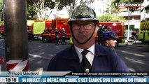 14-Juillet à Marseille : le défilé militaire s'est élancé sur l'avenue du Prado