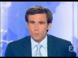 France 2 - 29 Août 2005 - Teaser, début JT 20H (David Pujadas)