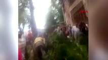 DHA DIŞ- Azerbaycan'da 500 yıllık ağaç devrildi 19 yaralı