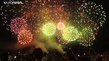 Nice : Premier feu d'artifice depuis l'attentat de 2016