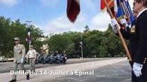 Engouement patriotique lors du défilé du 14-Juillet à Epinal