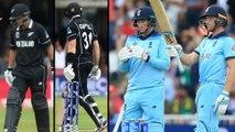 ICC World Cup 2019 Final: New Zealand Set 242-Run Target For England || Oneindia Telugu