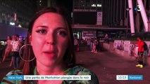New York : une partie de Manhattan a été plongée dans le noir