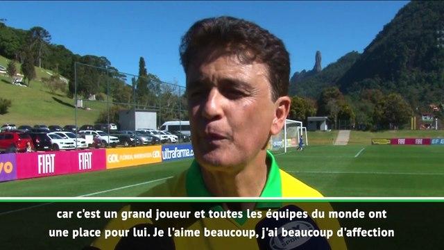 """Bebeto : """"j'espère que Neymar pourra remettre sa tête à l'endroit"""""""