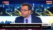 Le restaurant Le Fouquet's de Paris a rouvert ses portes aux clients (vidéo)