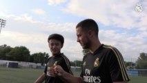 """Kubo y su admiración por Hazard: """"Veo tus vídeos antes de jugar"""""""