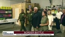 Trump Declares Pence Detention Centers Tour Proved Our Facilities Are 'Well Run And Clean'