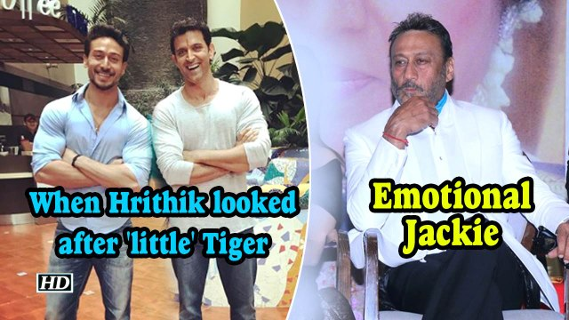 Emotional Jackie Recalls, When Hrithik looked after 'little' Tiger