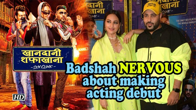 Rapper Badshah NERVOUS about making acting debut | Khandaani Shafakhana