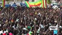 Scènes de liesse à Dakar après la qualification des Lions en finale de la CAN