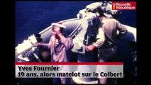 """VIDEO. Tours : il a été matelot avec le général de Gaulle sur le """" Colbert """""""