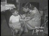 Centro de ayuda infantil para chicos de la villa miseria en Buenos Aires 1967