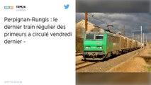 Le train de fret Perpignan-Rungis en sursis mais un chargement qui demeure incertain