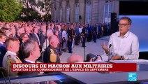 """""""L'armée est très populaire, 77% des français"""""""