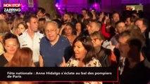 Fête nationale : Anne Hidalgo s'éclate au bal des pompiers de Paris (vidéo)