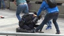14 Juillet : des heurts ont éclaté sur les Champs-Elysées
